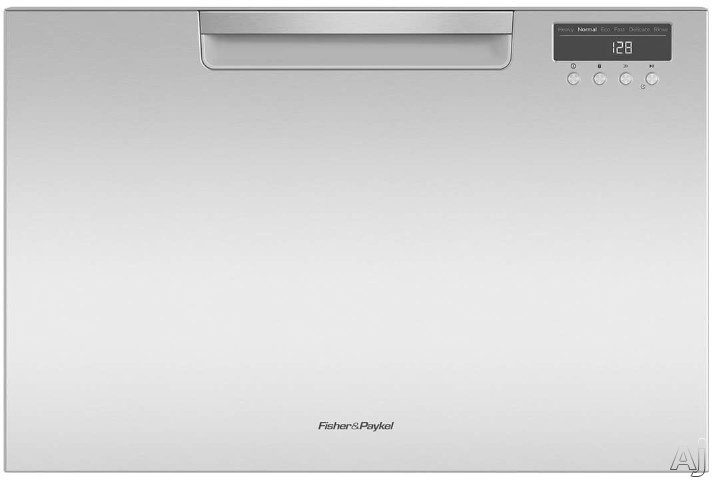Fisher Paykel DishDrawer Series DD24SAX Full Console Single DishDrawer with 7 Place Setting Capacity 6 Wash Cycles 6 Wash Programs Cutlery Basket Child Lock Silence Rating of 45 dBA ADA Compliant and