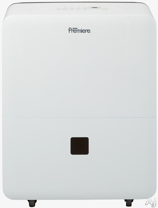 Danby Premiere Series DDR45B3WP 45 Pint Capacity Dehumidifier with R410A Refrigerant, 2,500 sq. ft. Cooling Area, 2 Fan Speeds, Auto De-Icer, Removable Air Filter and Electronic Controls