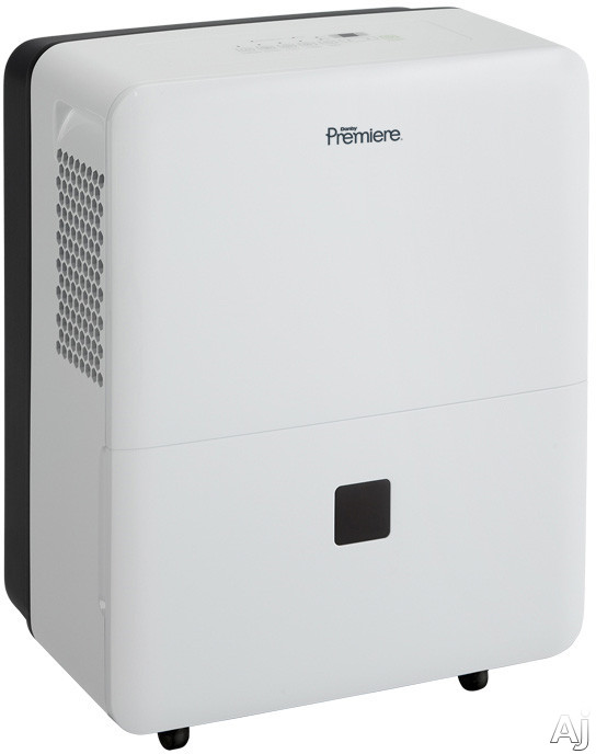 Picture of Danby Premiere Series DDR50B3WP 50 Pint Capacity Dehumidifier with R410A Refrigerant 3000 sq ft Cooling Area Auto De-Icer Adjustable Humidity Settings and Removable Air Filter