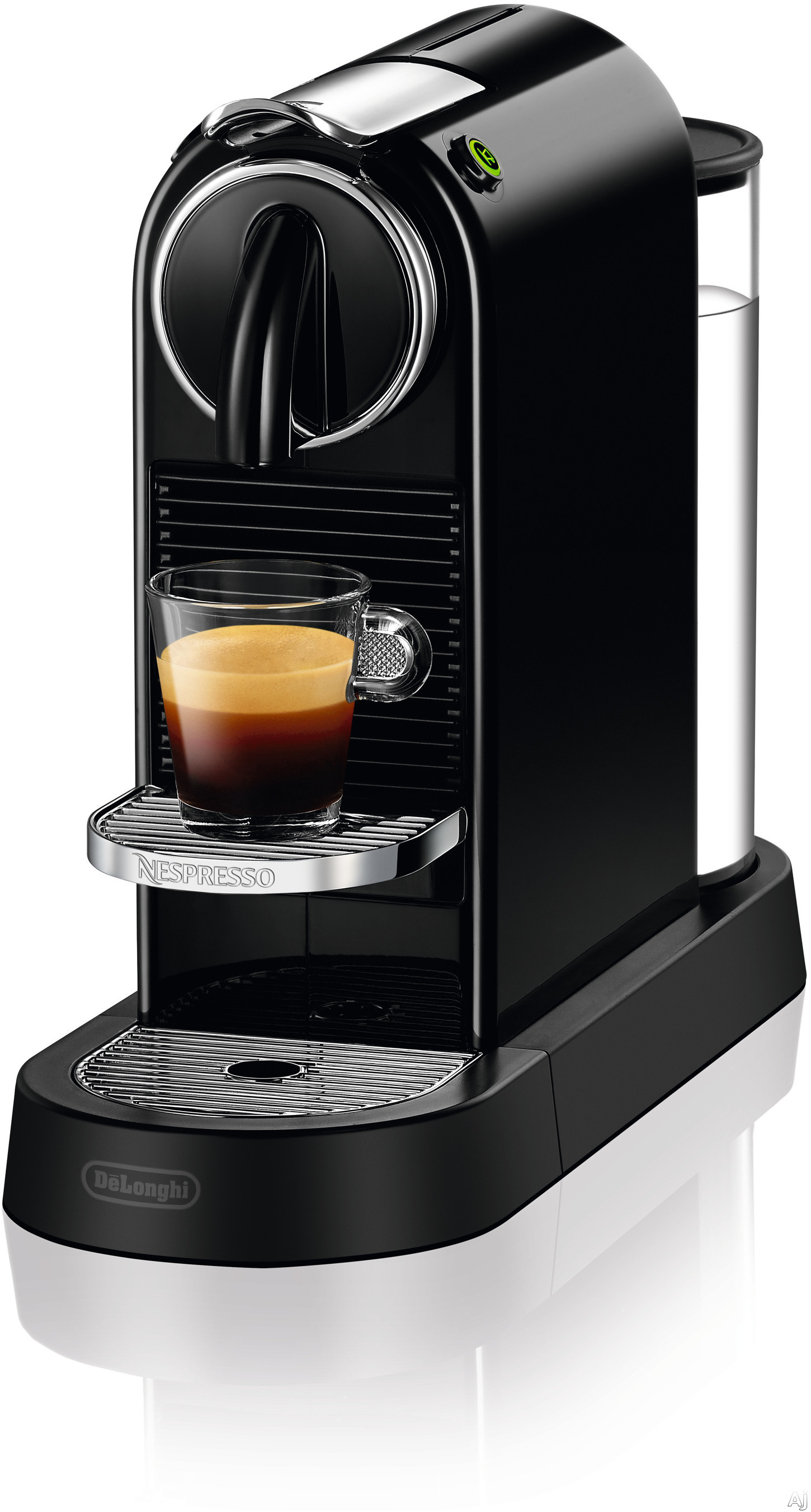 Nespresso Original Line EN167B CitiZ Espresso Machine with 2 One Touch Presets, Fast Preheat, Auto Power-off, 16 Nespresso Capsule Tasting Pack, Folding Cup Shelf, Auto Volume Control and High-Pressur