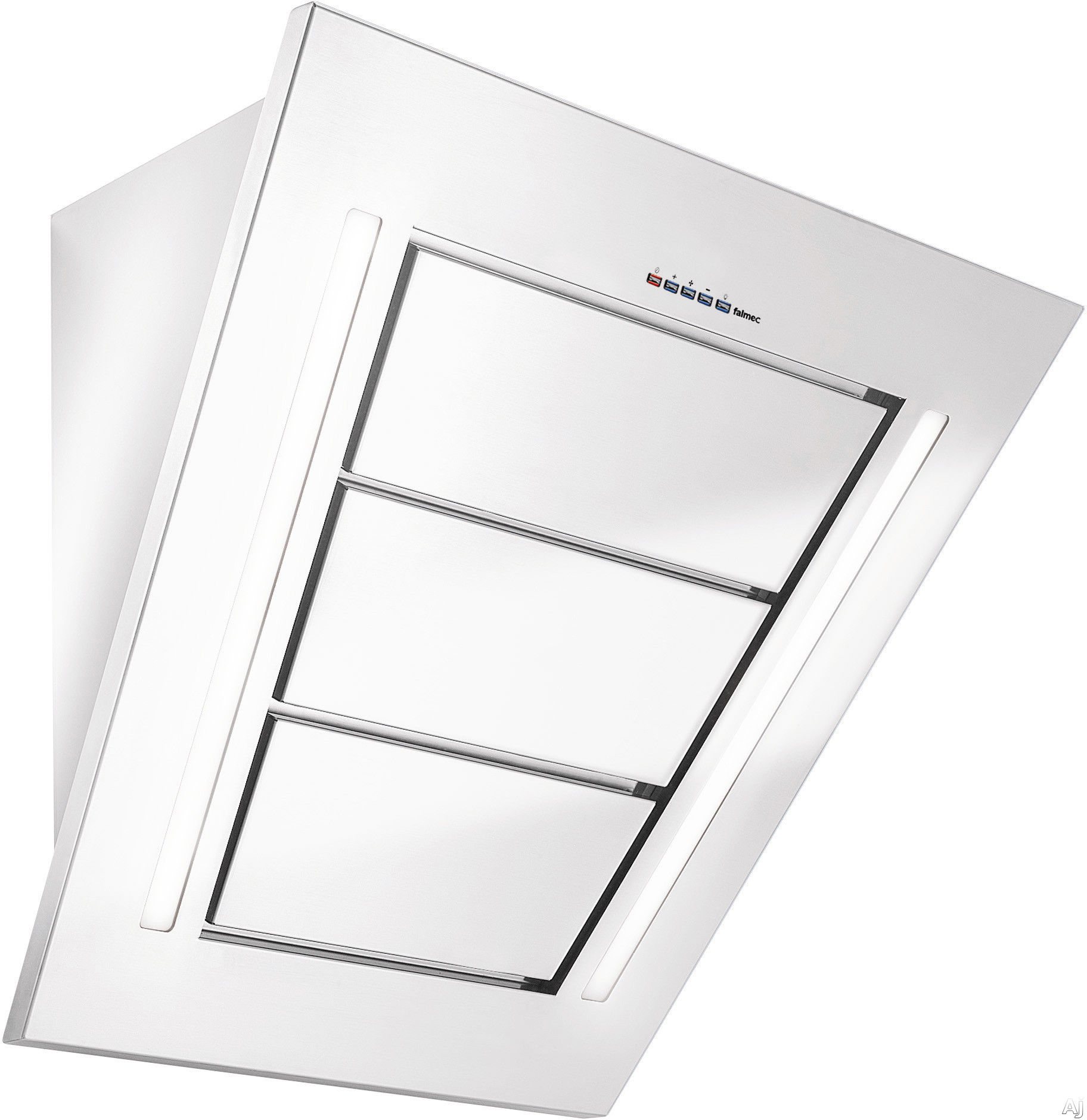 Futuro Futuro Diamond Series WL36DIAMOND 36 Inch Wall Mount Range Hood with 940 CFM Internal Blower, 4 Speed Electronic Controls, 2 Fluorescent Lights and Magnetic Perimeter Suction Filter System: Stainless Steel WL36DIAMOND