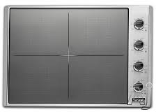 """Viking VICU53014BST 30 Inch Induction Cooktop with Magnequick Induction Elements, TransMetallicâ""""¢ Ceramic Surface, Power Management System and CoolLit LED lights"""
