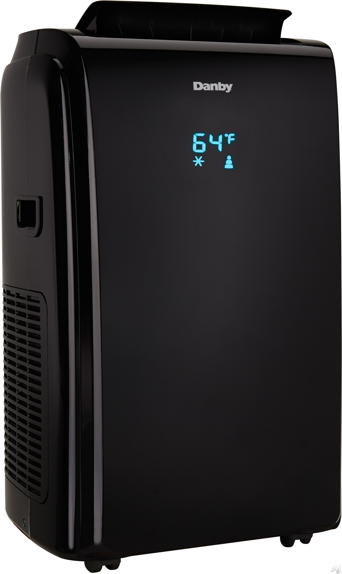 Danby DPA140HEAUBDB 14,000 BTU Portable Air Conditioner with Dehumidifier Mode, Reuseable Air Filter, Heater Option, 24 Hour Timer, Auto Restart, Auto Swing, 3 Speed Fan and Integrated Handles
