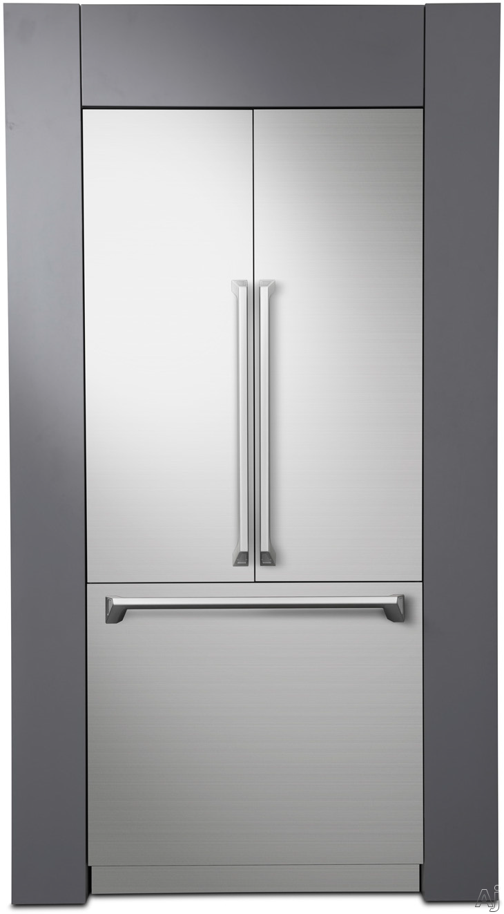 Dacor Modernist DRF367500AP 36 Inch Built-In French Door Refrigerator with FreshZone™ Drawer, Dual Icemaker, 3DLighting™, SteelCool™ Interior, Internal Water Dispenser, Humidity Control Crispers, Door Open Alarm, Panel Ready, Sabbath Mode and ENERGY STAR®