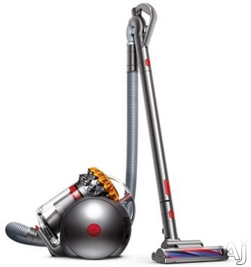 "Dyson Ball Series 21488701 Dyson Big Ball Multifloor Upright Vacuum Cleaner with 250AW Suction Power, Ballâ""¢ Technology, 2 Tier Radialâ""¢ Cyclones, Carbon Fiber Floor Tool, Articulating Handl"