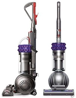 "Dyson Ball Series 21489501 Dyson Cinetic Big Ball Animal Upright Vacuum with 180AW Suction Power, Dyson Cineticâ""¢, Ballâ""¢ technology, HEPA Filtration, 40 Ft Cleaning Radius, Self-Adjusting Cleaner Head, Turbine Tool, No Filters Needed and Hygienic Bin"