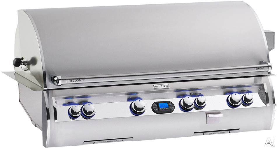 """Fire Magic Echelon Collection E1060IME1 51"""" Built in Gas Grill with 1056 sq. in. Cooking Surface, U.S. & Canada E1060IME1"""