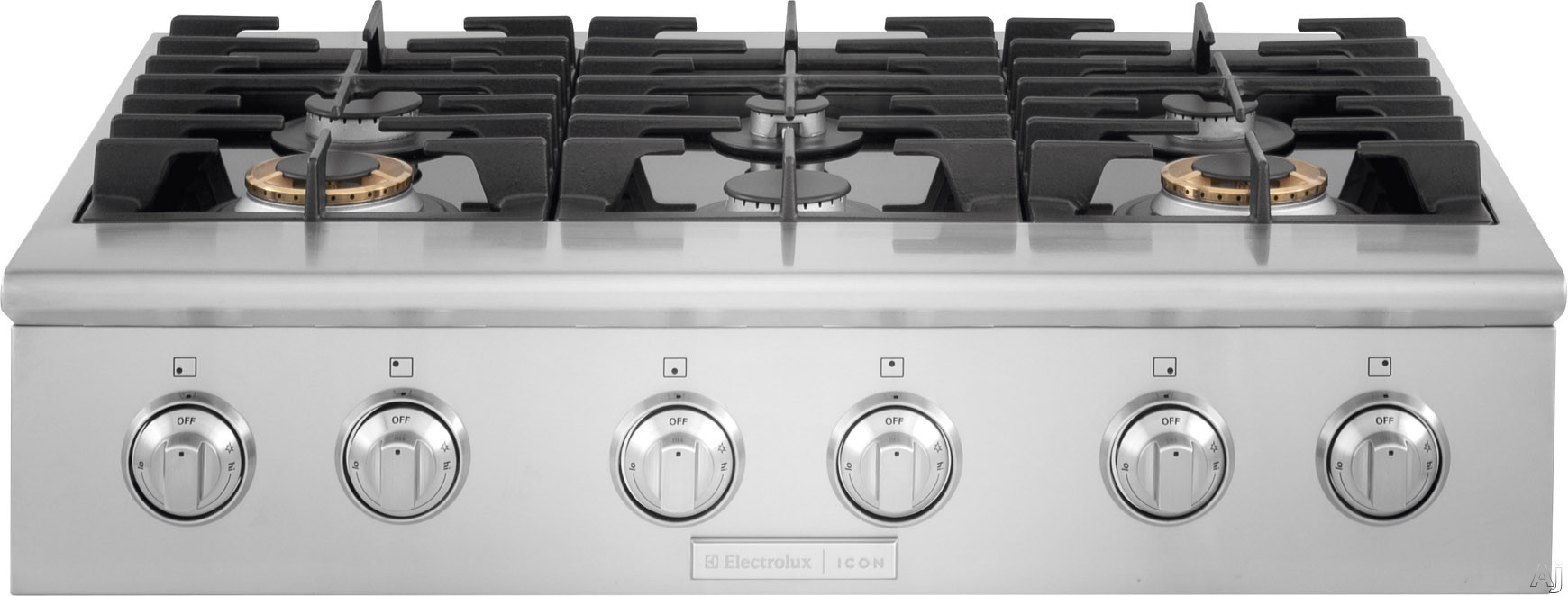 Electrolux E36gc76pps 36 Quot Pro Style Rangetop With 6 Sealed