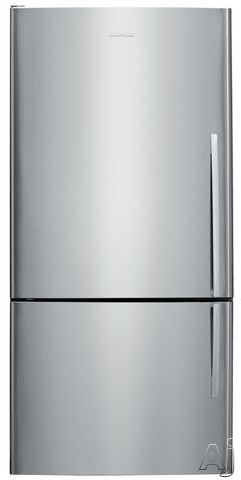 Fisher and Paykel Active Smart E522BLX5 31 Inch Bottom Freezer with 176 cu ft Capacity 4 Adjustable Glass Shelves Gallon Door Storage Humidity Controlled Crispers Independent Temperature Control ActiveSmart Technology LED Lighting and ENERGY STAR Stainles