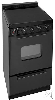 appliance creativity summit white pearl series rex204bl 20 freestanding smoothtop electric. Black Bedroom Furniture Sets. Home Design Ideas