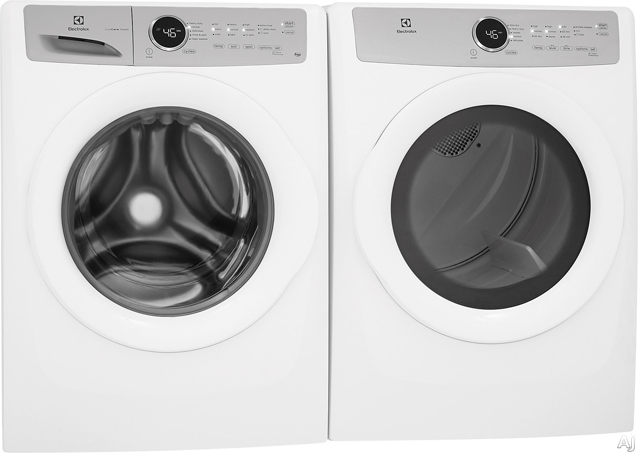 Compare electrolux front load washer and dryer stacking Electrolux washer and dryer