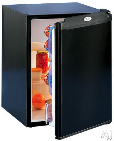 whirlpool el03ccxmb 19 cold pals compact refrigerator w. Black Bedroom Furniture Sets. Home Design Ideas