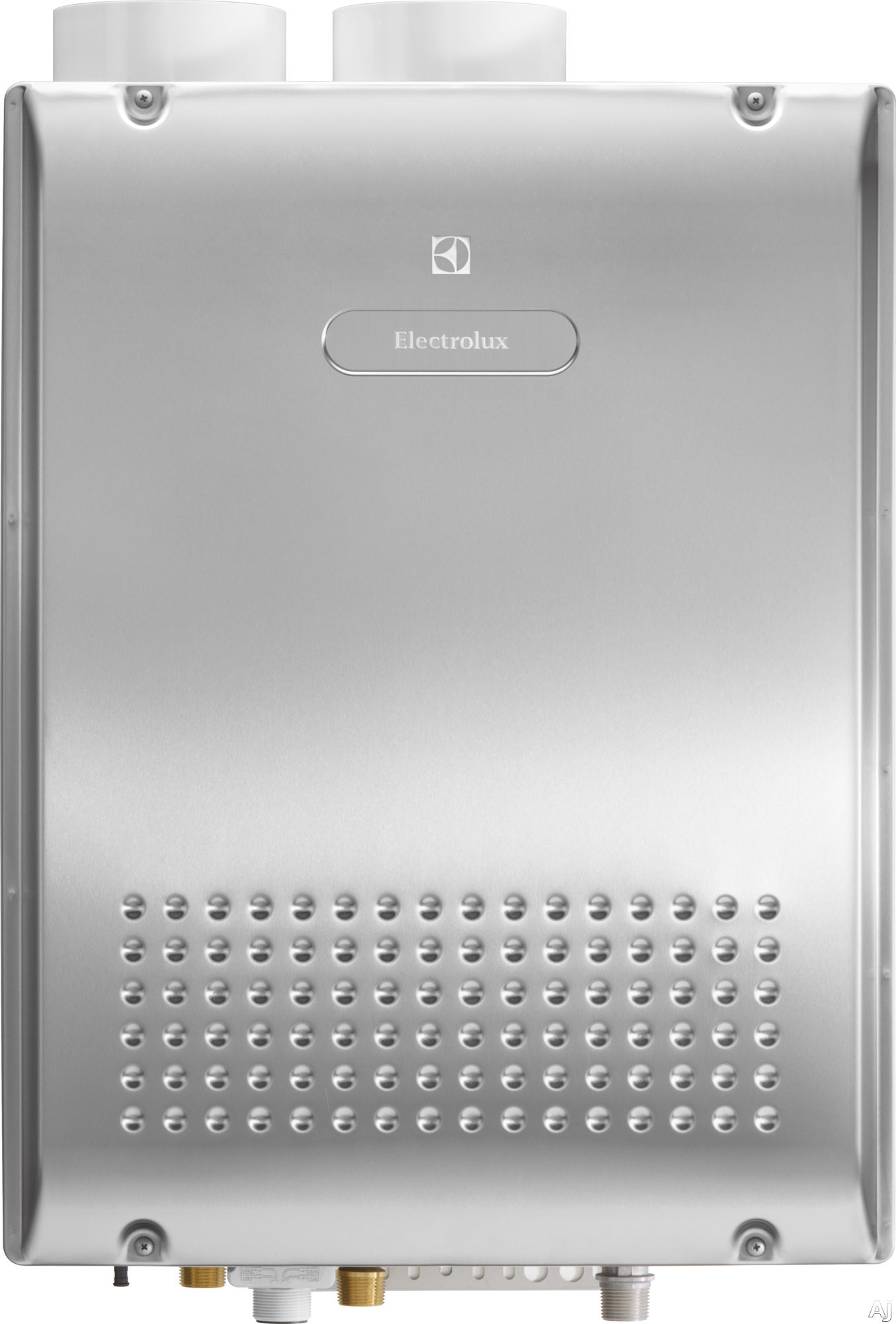 Electrolux EN18WI30LS 19 Inch Tankless Natural Gas Water Heater with 180,000 BTU/H, 0.91 Energy Factor, 93% Thermal Efficicency, Wall Mount Application, Flow Meter Alarm and Energy Star Qualified