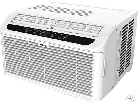 Haier Serenity Series ESAQ406T 8,000 BTU Window Air Conditioner with 11.2 EER, 3 Cool/Fan Speeds, 24 Hour Timer Sleep Mode, Energy Saver Mode and Remote Included ESAQ406T