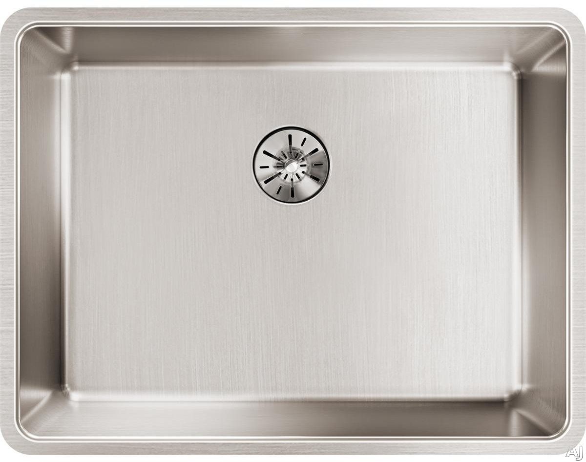 Elkay Lustertone Collection ETRU21159PD 23 Inch Iconix Single Bowl Kitchen Sink and Perfect Drain with 16-Gauge Stainless Steel, Sound Deadening Pads and Perfect Drain