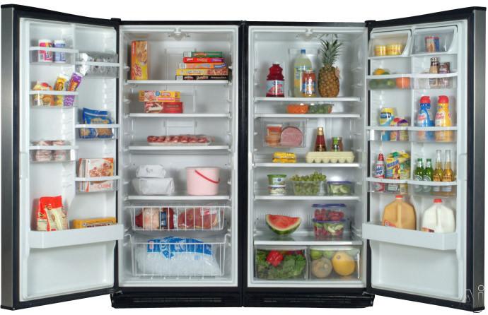Whirlpool El87trrrv 17 7 Cu Ft All Refrigerator With 4