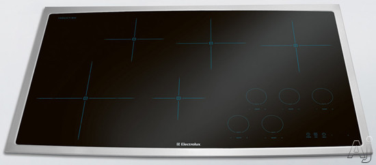 Electrolux EW36IC60LS 36 Inch Induction Cooktop with 5 Cooking Zones, 7/11 Inch Dual Element, Cookware Compatibility, Keep Warm Setting, Perfect Set Controls and ADA Compliant: Stainless Steel