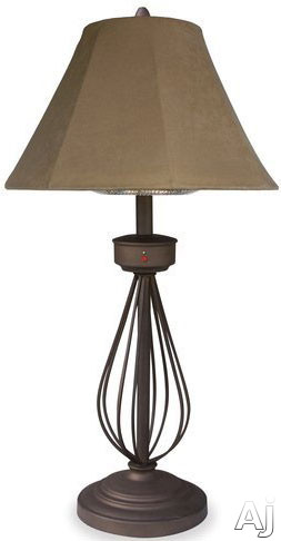 Blue Rhino EWTS9151M Outdoor Electric Tabletop Patio Heater with 1,200 Watt Heating Element and Lamp Design