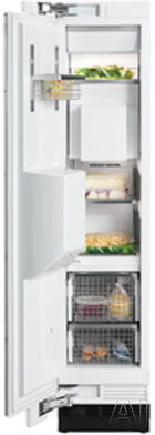 Miele MasterCool Series F1473 18 Inch Built-In Full Freezer Column with 8.0 cu. ft. Capacity, 4 Glass Shelves, 4 Wire Door Bins, 2 Wire Baskets, FullView Storage Drawers, RapidCool Loading Function and Ice/Water Dispenser