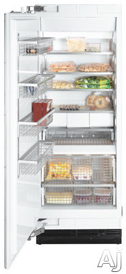 Miele MasterCool Series F1903 36 Inch Built-In Full Freezer Column with Adjustable Wire Shelves, FullView Storage Drawers, Metal Freezer Baskets, RapidCool Function, ENERGY STAR and RemoteVision Capable