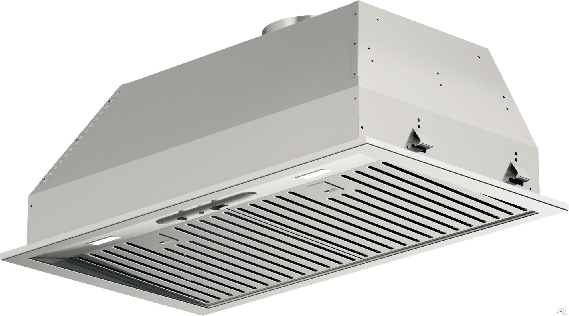Fulgor Milano F4BP28S1 28 Inch Insert with 600 CFM Internal Blower Stainless Steel Baffle Filters Mechanical Controls 4 Speed Blower Fan LED Lighting and Recirculating Options
