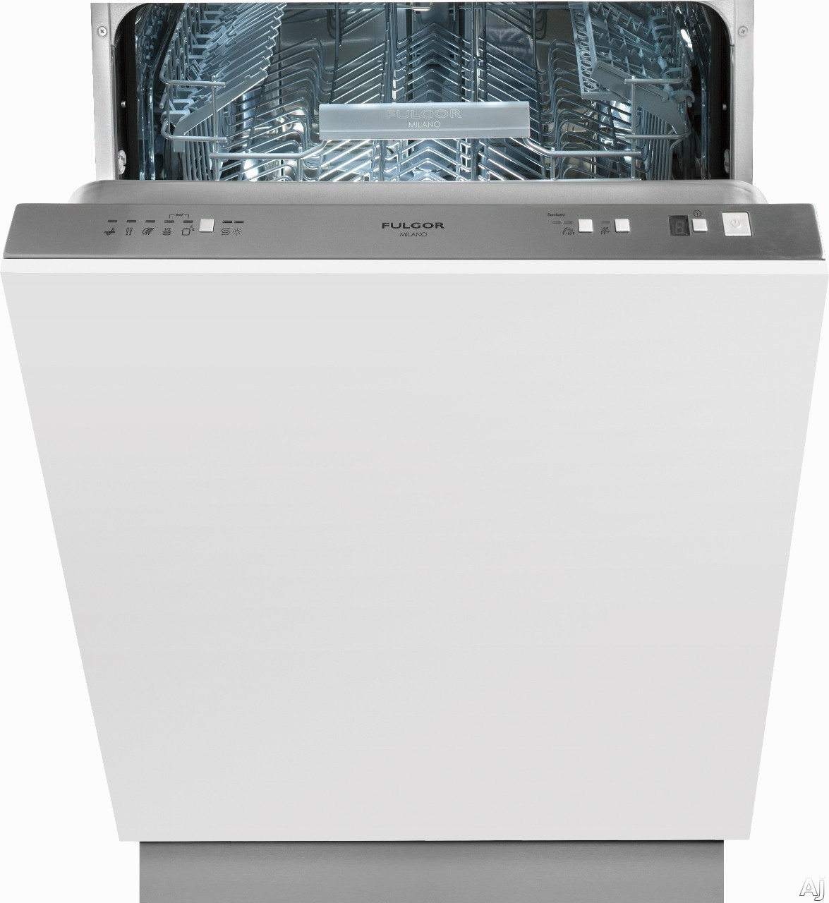 """F6DW24FI1 24"""""""" 600 Series Fully Integrated Dishwasher with 13 Place Settings  50 dB Noise Level  9 Wash Programs and Stainless Steel Tall Tube: Panel"""" 684221"""