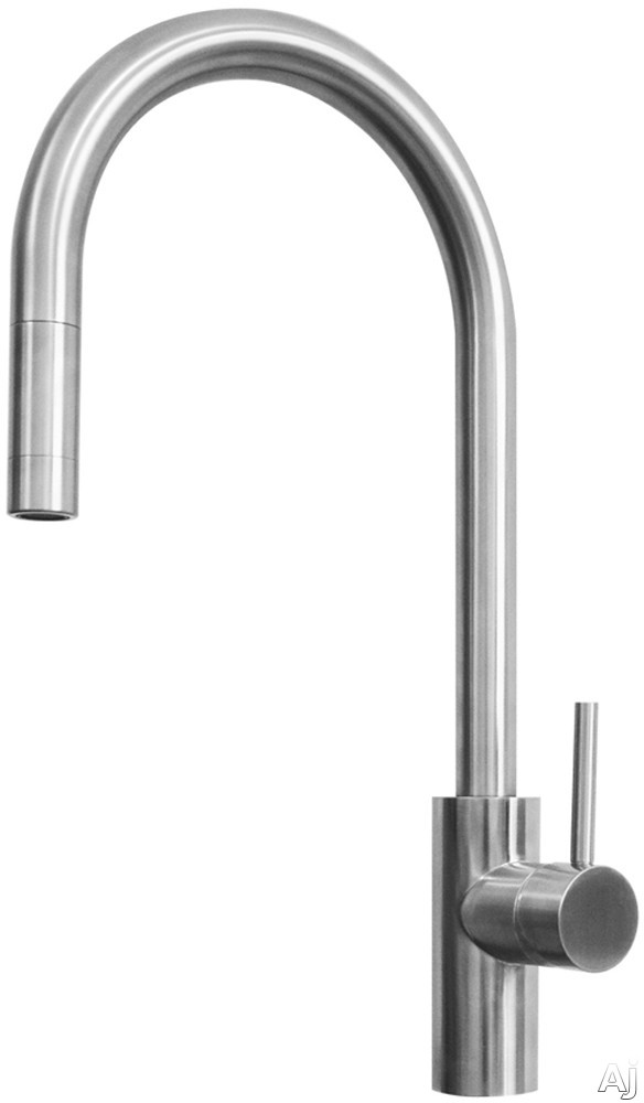 Ukinox Alton Series FAL400SS Single Hole Faucet with 304 Stainless Steel Construction