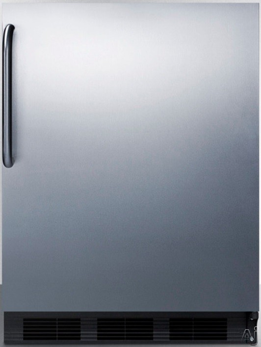 Summit Counter-Height General Ada All-Refrigerator Stainless Steel FF6BSSTBADA