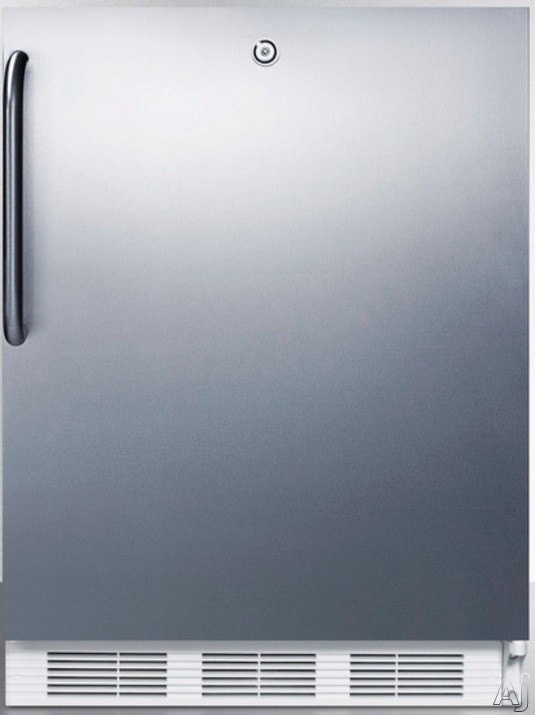 AccuCold FF6L7CSS 24 Inch Built-in Compact Refrigerator