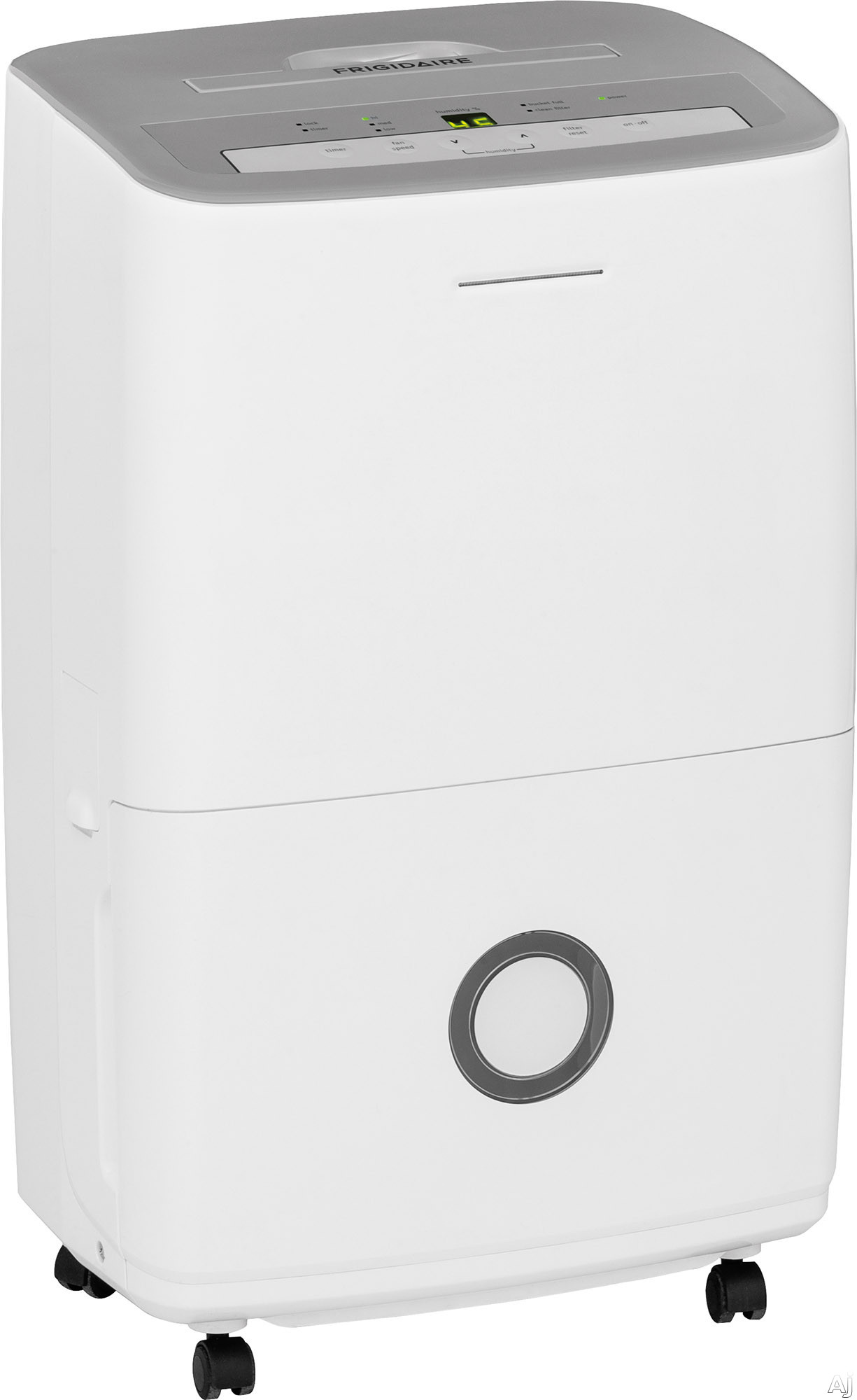 Frigidaire Ffad Dehumidifier With 3 Fan Speeds Push