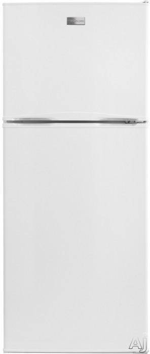 Frigidaire FFET1022Q 24 Inch Top-Freezer Refrigerator with 9.9 cu. ft. Capacity, Adjustable Glass Shelving, Gallon Door Storage, 2 Store-More Crisper Drawers, ADA Compliant Design and ENERGY STAR