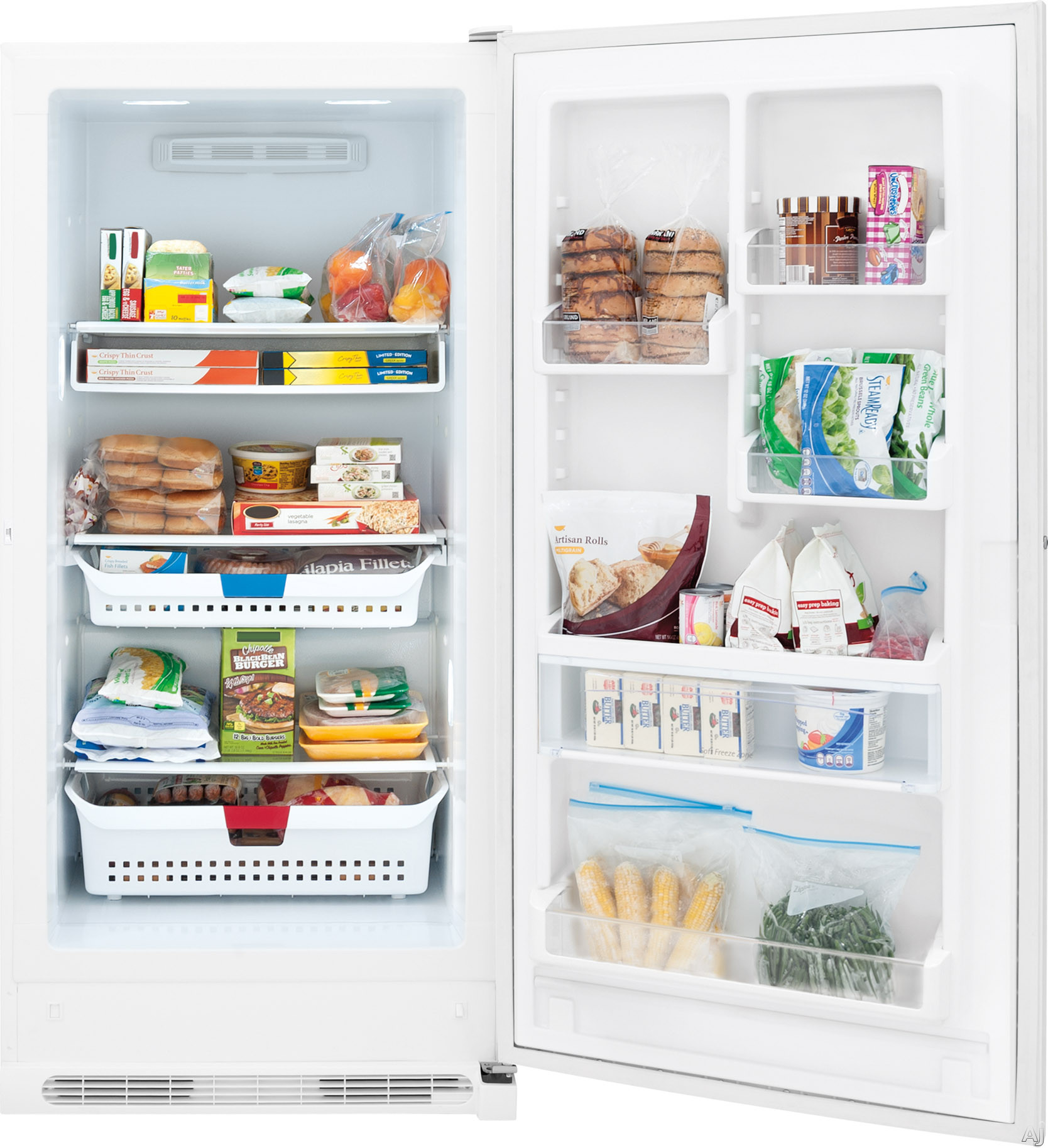 Frigidaire Fffh17f6qw 16 85 Cu Ft Upright Freezer With 3