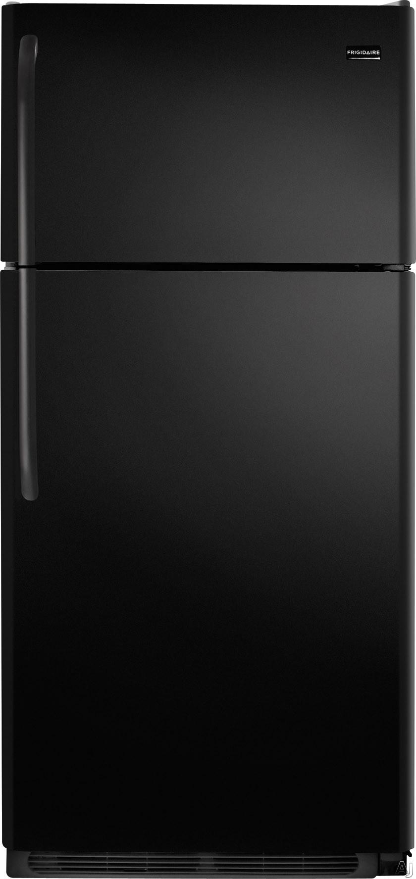 Frigidaire FFHI1831QE 30 Inch Top-Freezer Refrigerator with 18.0 cu. ft. Capacity, 2 SpillSafe Glass Shelves, Gallon Door Storage, 2 Crisper Drawers, 1 Deli Drawer, 3 Door Racks, Covered Dairy Bin, ADA Compliant, ENERGY STAR Qualified and Ice Maker: Black