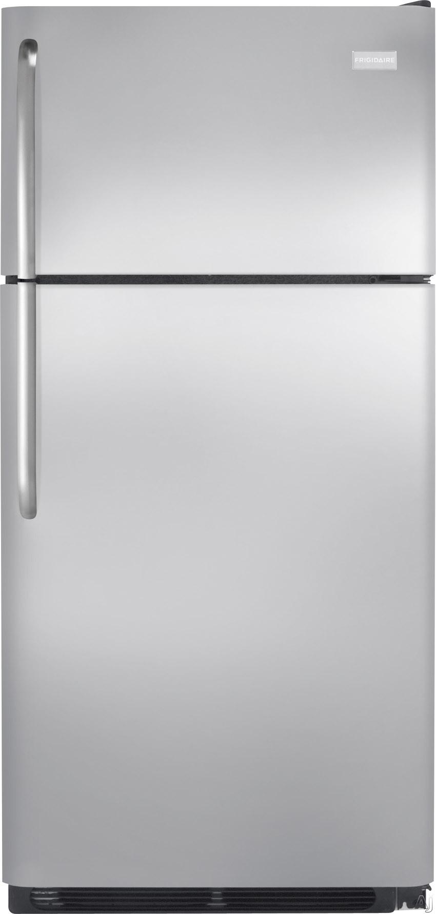 Frigidaire FFHI1831Q 30 Inch Top-Freezer Refrigerator with 18.0 cu. ft. Capacity, 2 SpillSafe Glass Shelves, Gallon Door Storage, 2 Crisper Drawers, 1 Deli Drawer, 3 Door Racks, Covered Dairy Bin, ADA Compliant, ENERGY STAR Qualified and Ice Maker