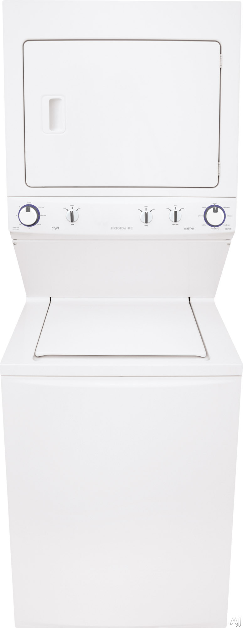 FRIGIDAIRE FFLE3911QW Washer Dryer Combo, 240V, 22A, White 282219931