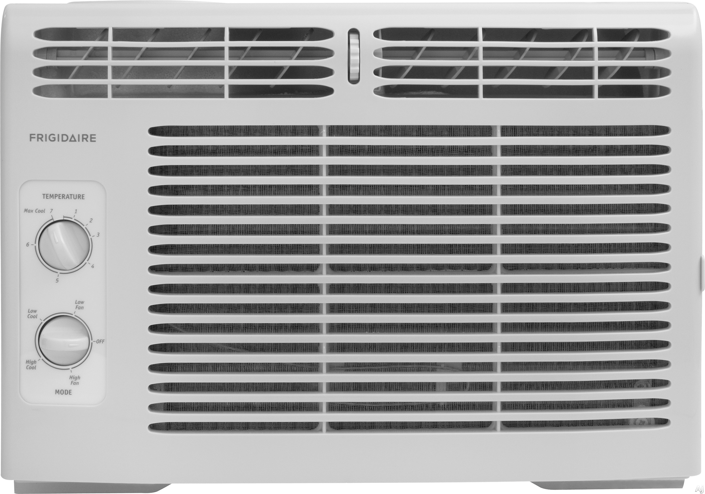 Frigidaire FFRA0511R1 5,000 BTU Window Air Conditioner with 11.1 EER, R-410A Refrigerant, 1.1 Pts/Hr Dehumidification, 150 sq. ft. Cooling Area, 2 Fan Speeds and Mechanical Controls FFRA0511R1