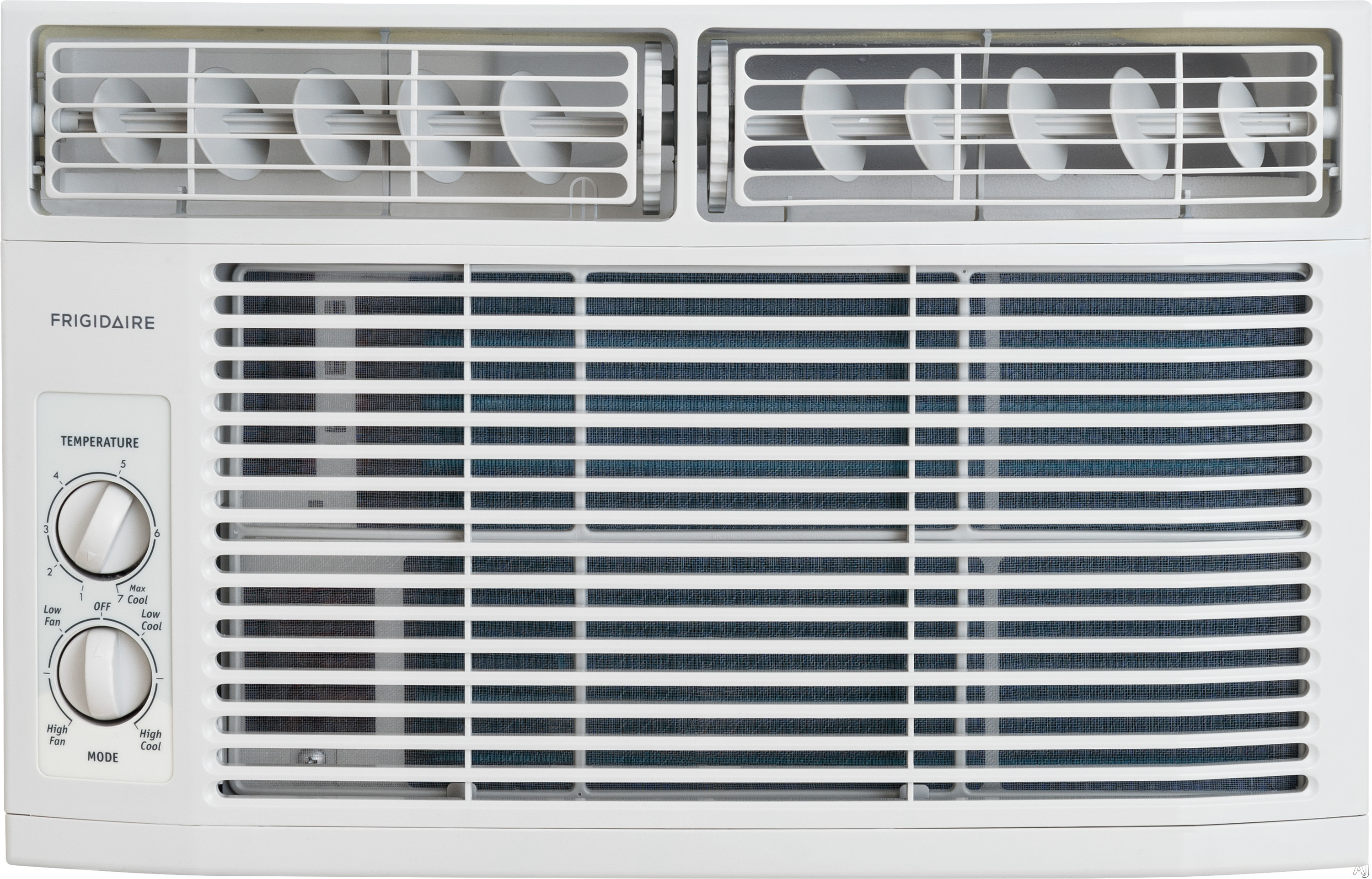 Frigidaire FFRA0611R1 6,000 BTU Window Air Conditioner with 11.0 EER, R-410A Refrigerant, 1.3 Pts/Hr Dehumidification, 250 sq. ft. Cooling Area, 2 Fan Speeds and Mechanical Controls FFRA0611R1
