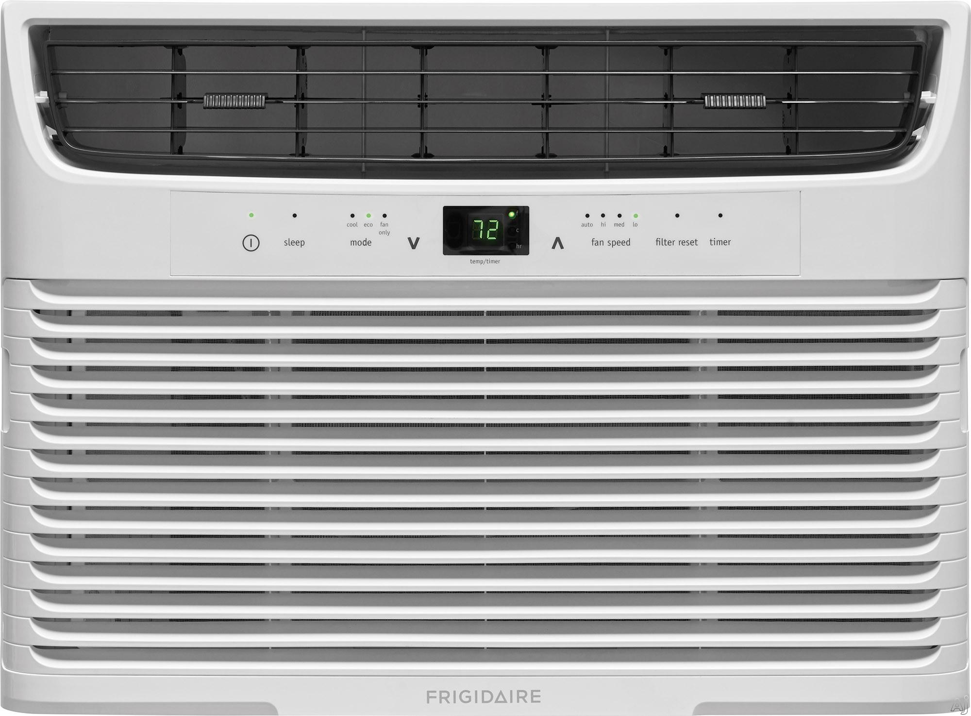 Frigidaire FFRA0622U1 6,000 BTU Room Conditioner with Effortless™ Temperature Control, Programmable 24-Hour Timer, SpaceWise® Adjustable Side Panels, Effortless™ Clean Filter, Effortles