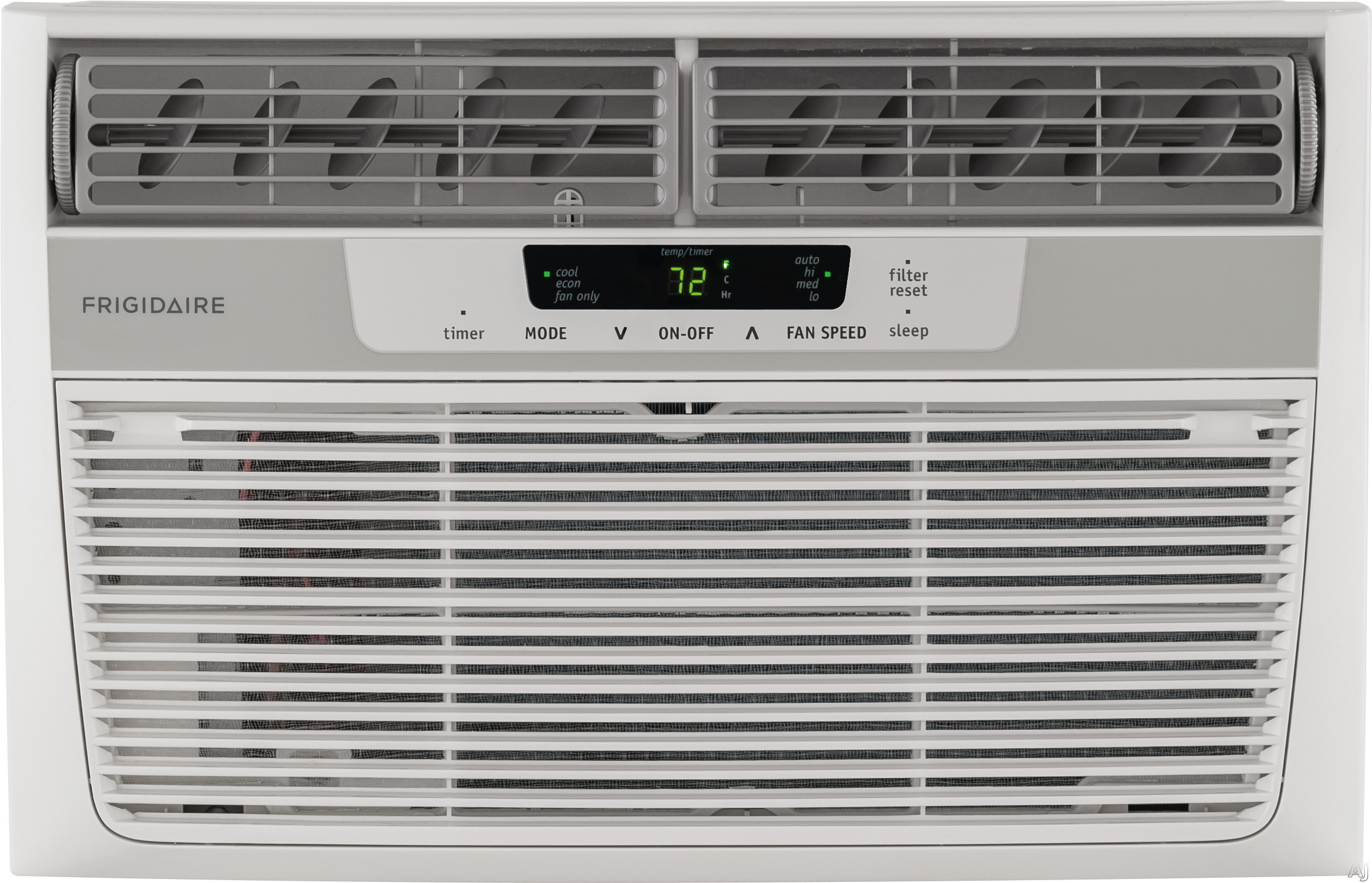 Frigidaire FFRA0822R1 8,000 BTU Window Air Conditioner with 10.9 EER, R-410A Refrigerant, 1.7 Pts/Hr Dehumidification, 350 sq. ft. Cooling Area, Auto Restart and Remote Control FFRA0822R1