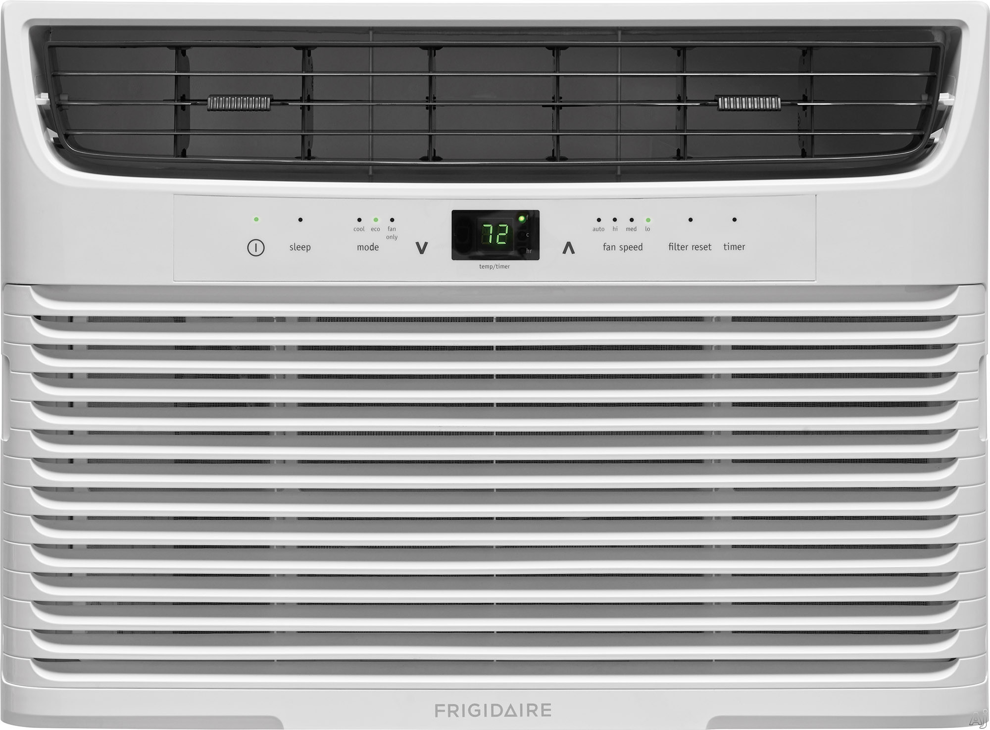 Frigidaire FFRA0822U1 8,000 BTU Room Air Conditioner with Effortless™ Temperature Control, Programmable 24-Hour Timer, SpaceWise® Adjustable Panels, Effortless™ Clean Filter, Effortless