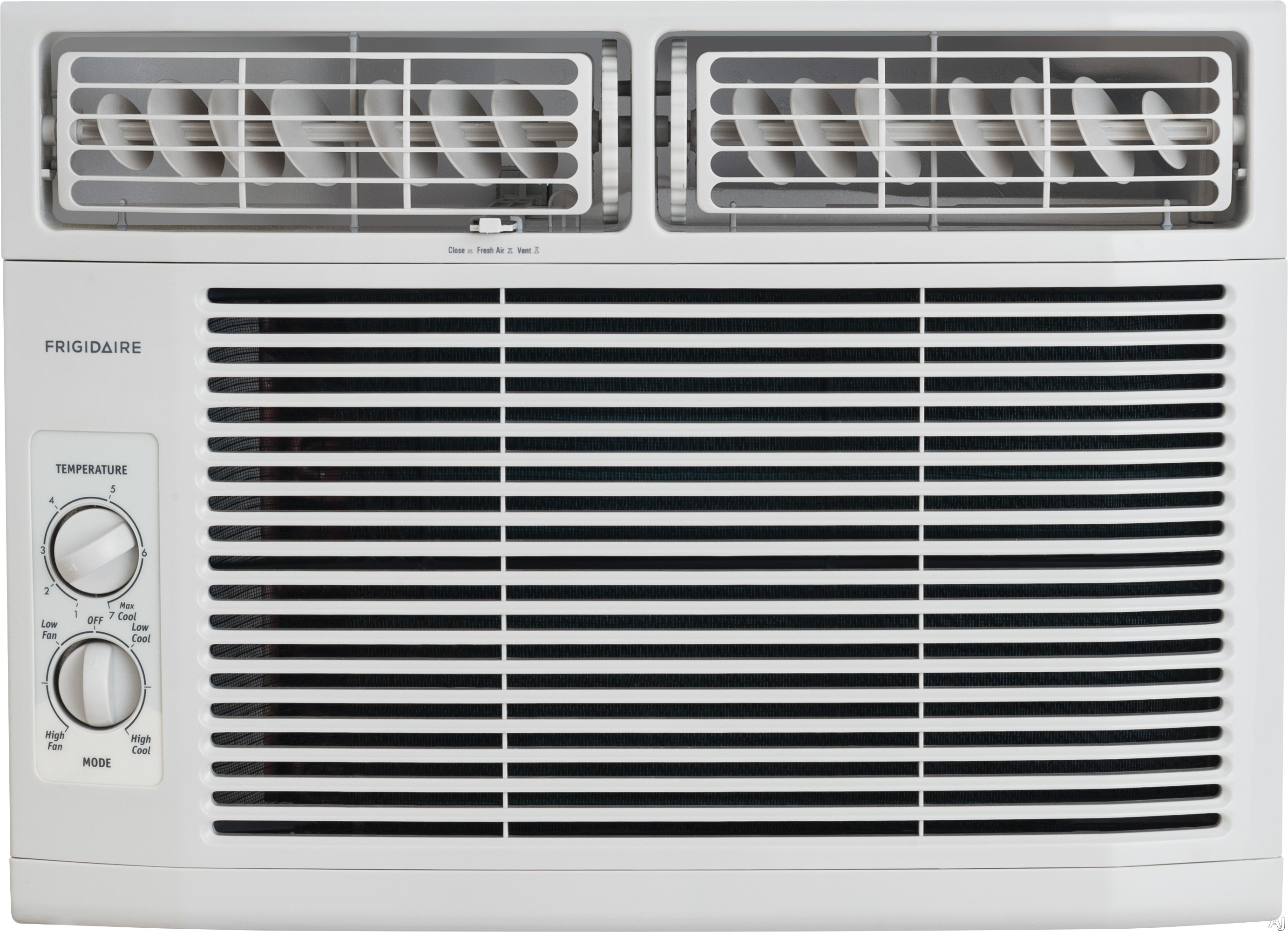 Frigidaire FFRA1011R1 10,000 BTU Window Air Conditioner with 10.9 EER, R-410A Refrigerant, 2.7 Pts/Hr Dehumidification, 450 sq. ft. Cooling Area, 3 Fan Speeds and Mechanical Controls FFRA1011R1