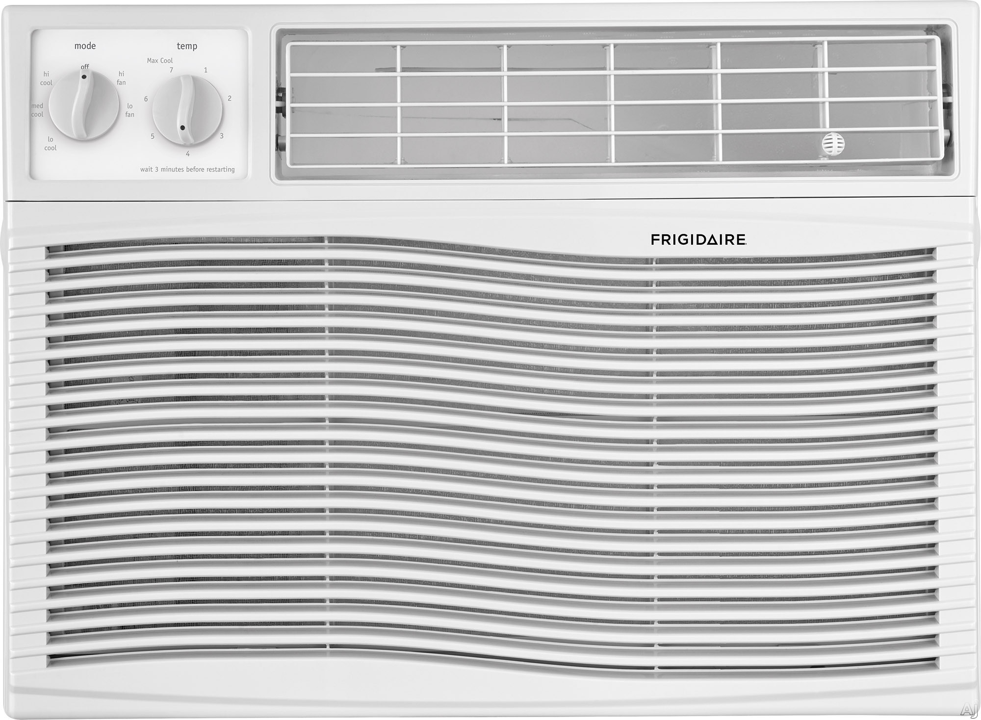 Frigidaire FFRA1211U1 12,000 BTU Room Air Conditioner with Effortless™ Temperature Control, Programmable 24-Hour Timer, Effortless™ Clean Filter, Effortless™ Restart, SpaceWise® A