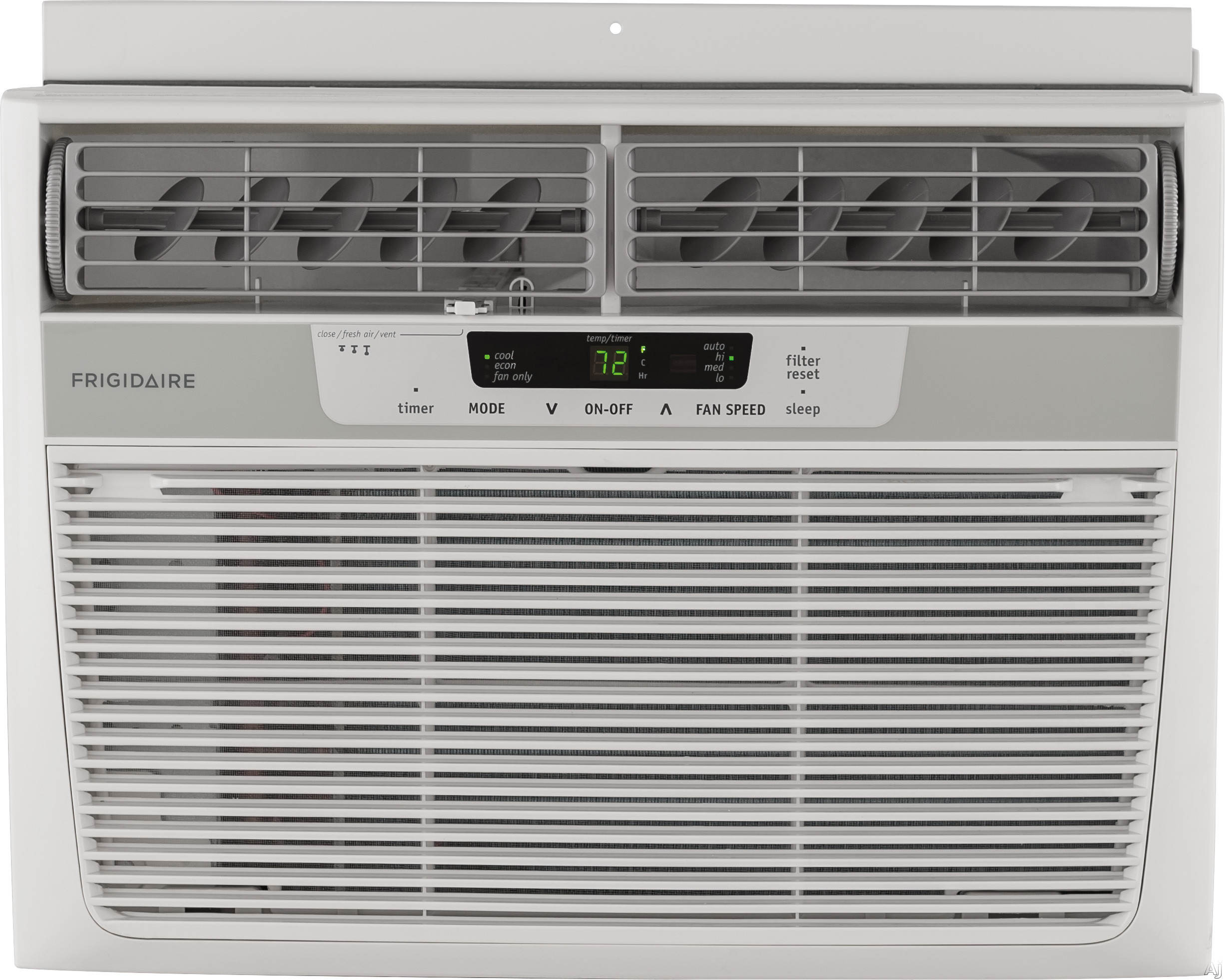 Frigidaire FFRA1222R1 12,000 BTU Window Air Conditioner with 10.9 EER, R-410A Refrigerant, 3.8 Pts/Hr Dehumidification, 550 sq. ft. Cooling Area, Auto Restart and Remote Control FFRA1222R1