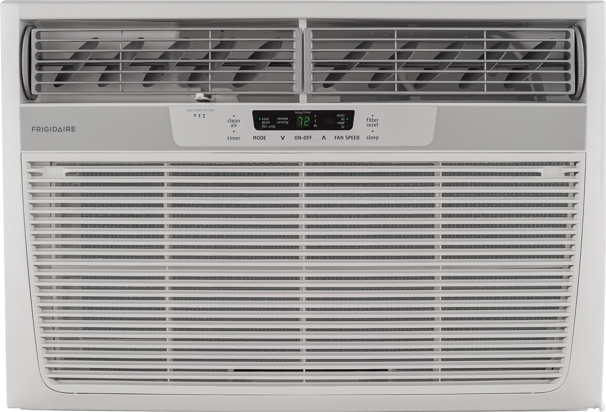 Frigidaire FFRA2822R2 28,000 BTU Room Air Conditioner with 9.0 EER, R-410A Refrigerant, 9.5 Pts/Hr Dehumidification, Clean Air Ionizer, Programmable Timer and 230/208 Volts FFRA2822R2