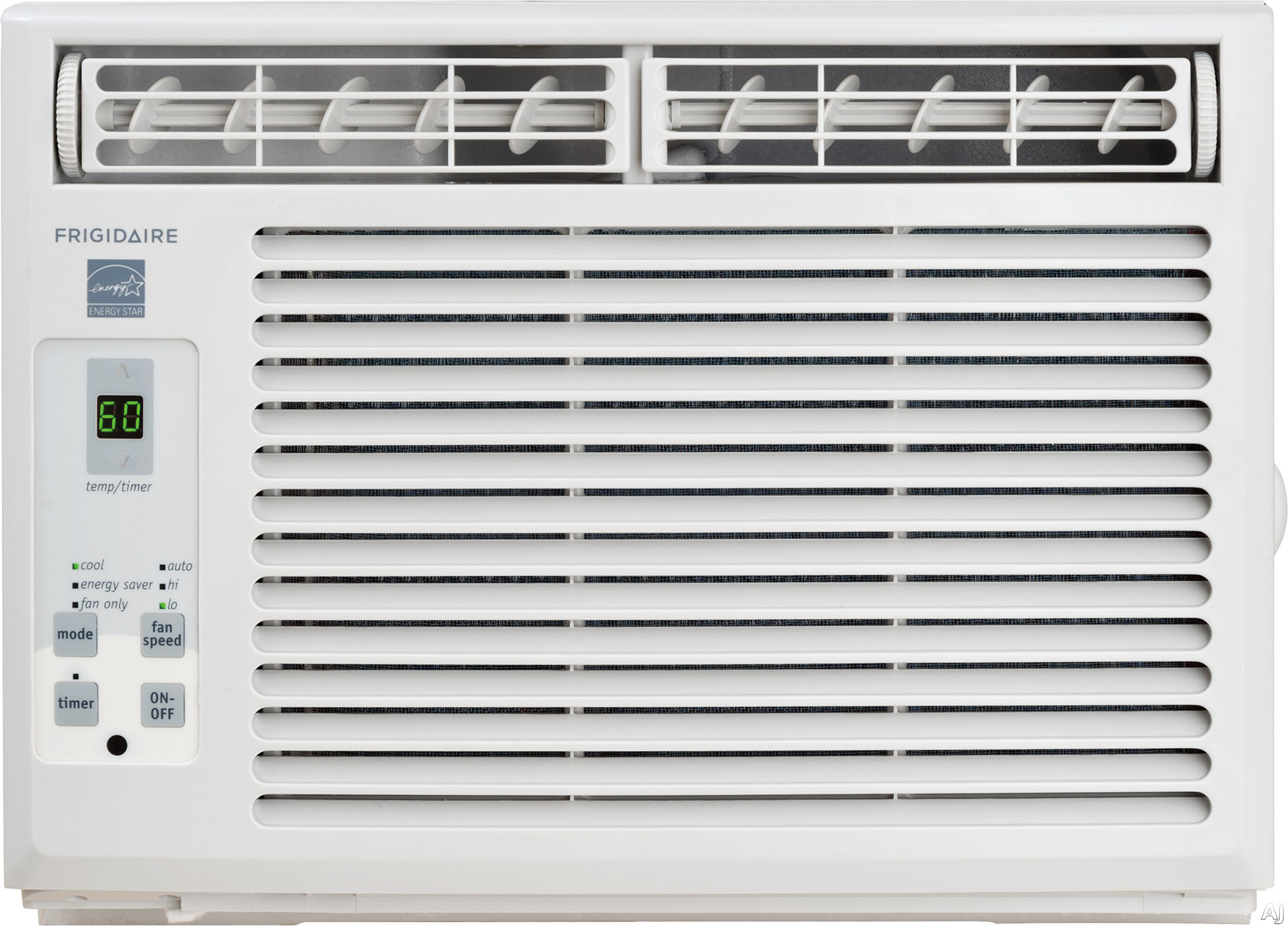 Frigidaire FFRE0533S1 5 000 BTU ENERGY STAR Window Air Conditioner with Digital Controls Remote Control 150 sq. ft. Cooling Area Ready Select Controls 24 Hour On Off Timer Energy Mode and Clean Filter