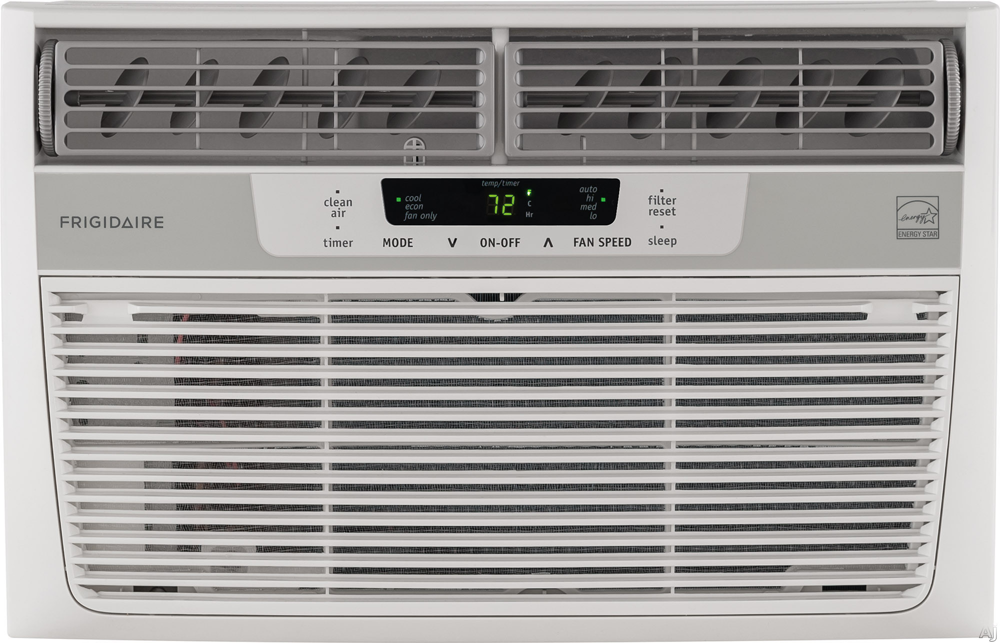 Frigidaire FFRE0633S1 6 000 BTU Mini Compact Air Conditioner with 152 CFM 3 Fan Speeds Effortless Temperature Control 24 Hour Timer Energy Saver Mode Clean Air Ionizer Effortless Clean Filter Effortle