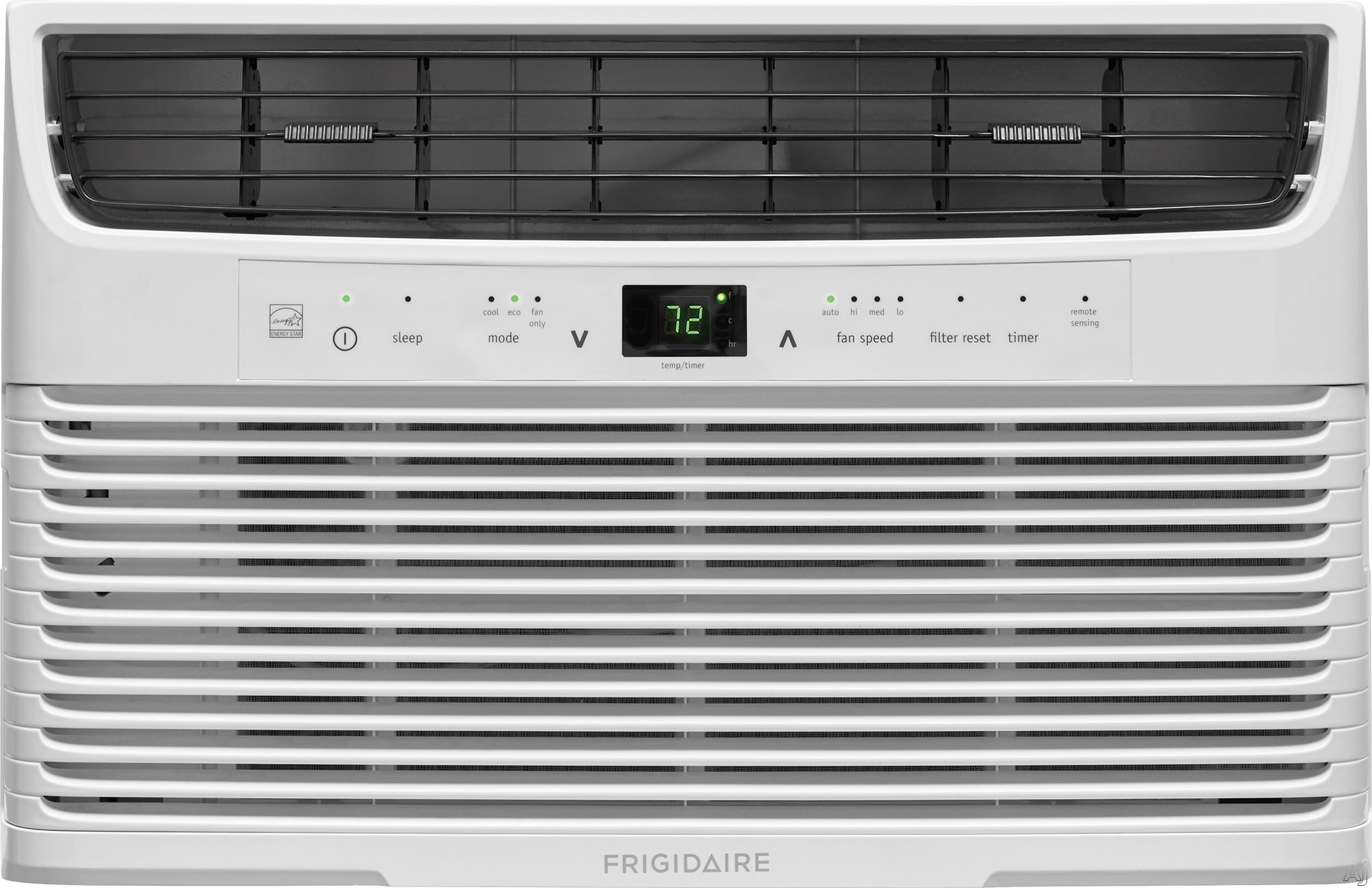 Frigidaire FFRE0633U1 6,000 BTU Room Air Conditioner with Effortless™ Temperature Control, Programmable 24-Hour Timer, Effortless™ Clean Filter, SpaceWise® Adjustable Side Panels, Effor