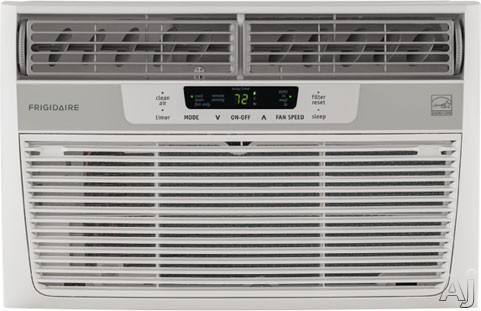Frigidaire FFRE0833S1 8 000 BTU ENERGY STAR Window Air Conditioner with Digital Controls Remote Control 350 sq. ft. Cooling Area Ready Select Controls 24 Hour On Off Timer Energy Mode and Clean Filter