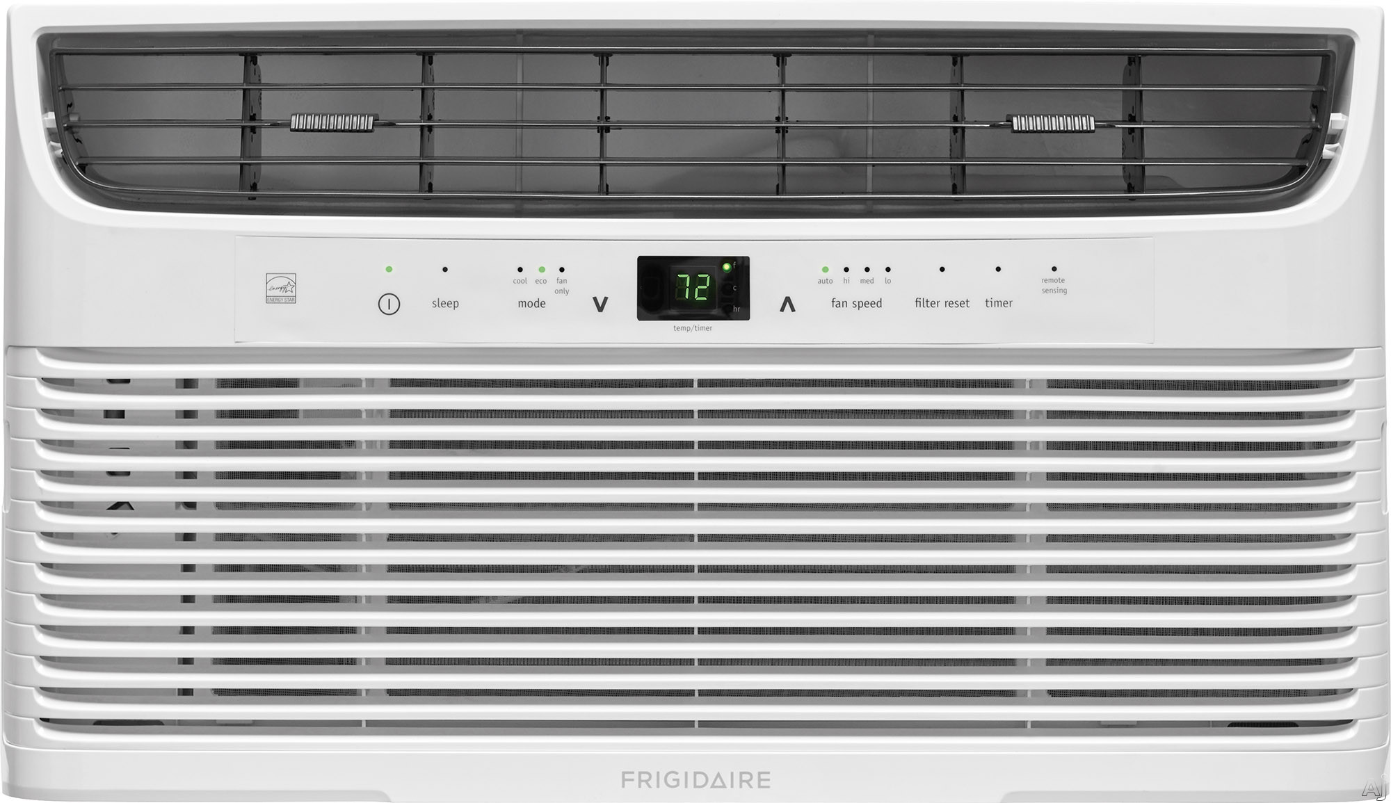 Frigidaire FFRE0833U1 8,000 BTU Room Air Conditioner with Effortless™ Temperature Control, Programmable 24-Hour Timer, Effortless™ Clean Filter, Effortless™ Restart, SpaceWise® Ad