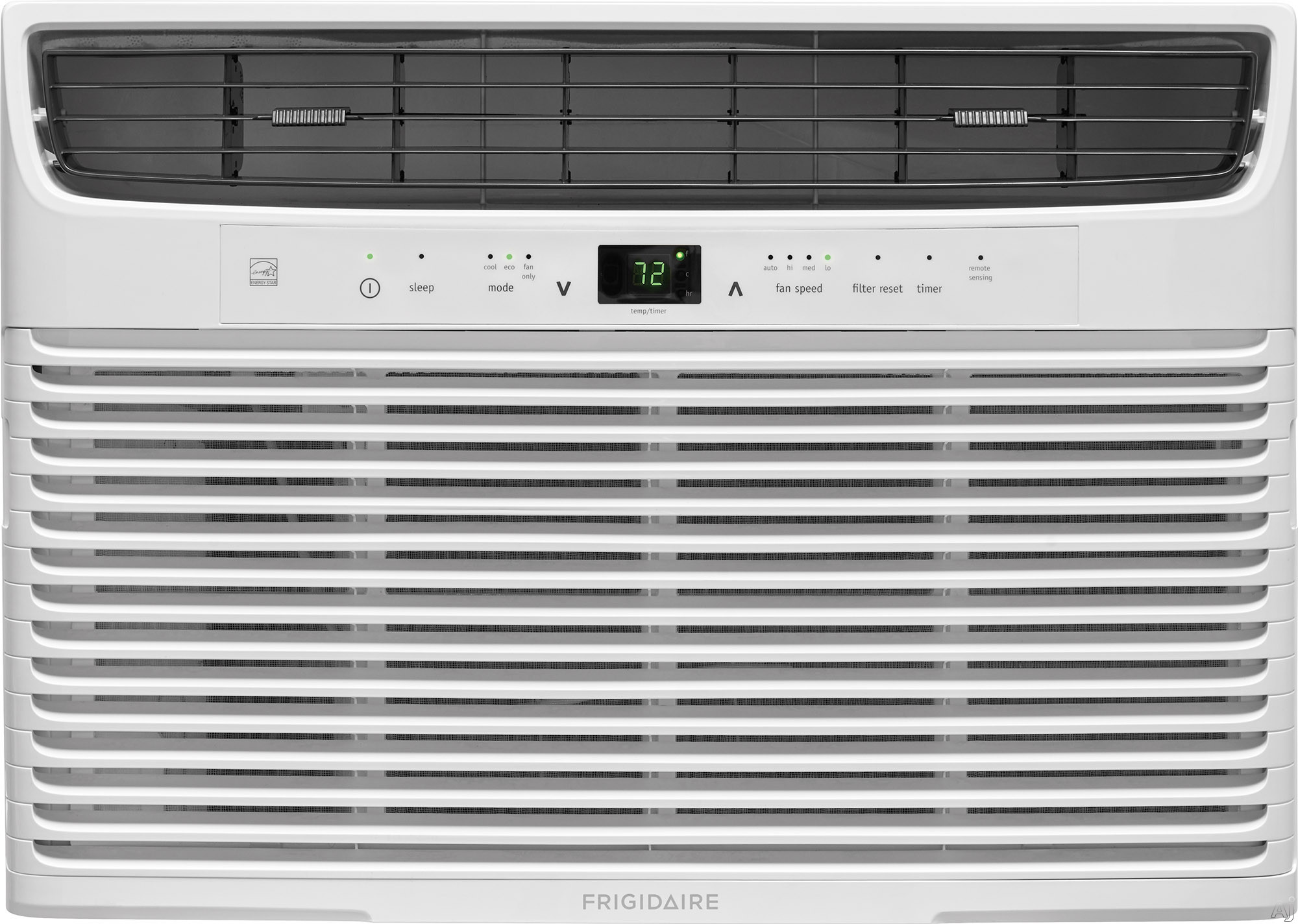 "Frigidaire FFRE1033U1 10,000 BTU Room Air Conditioner with Effortlessâ""¢ Remote Temperature Control, Effortlessâ""¢ Clean Filter, Effortlessâ""¢ Restart, Programmable 24-Hour Timer and Clean"